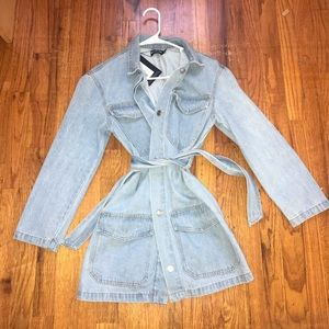 Pretty Little Thing denim jacket